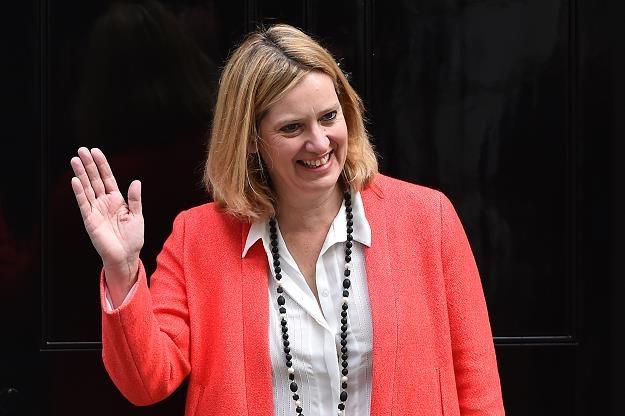 Amber Rudd, minister ds. energetyki W. Brytanii, fot. Ben Stansall /AFP