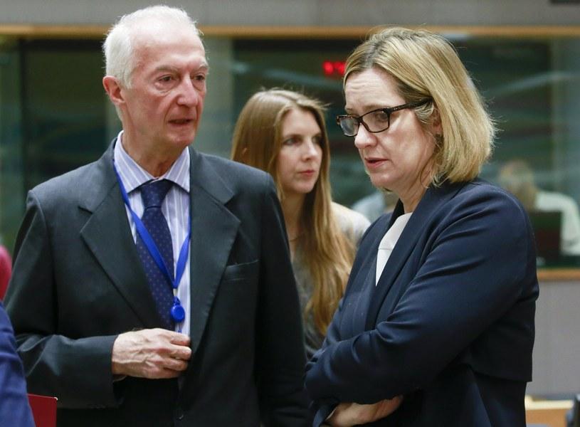 Amber Rudd nie wyklucza, że Londyn opuści Europol /PAP/EPA