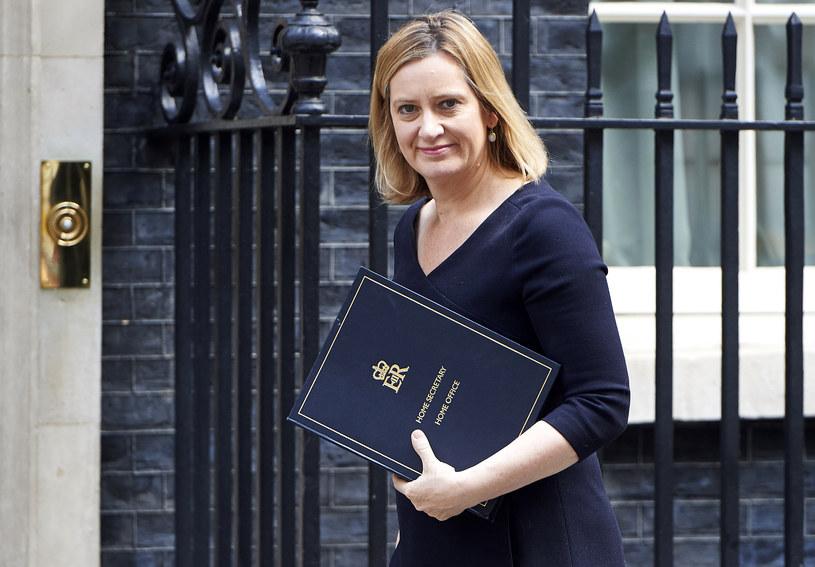 Amber Rudd /NIKLAS HALLE'N /AFP