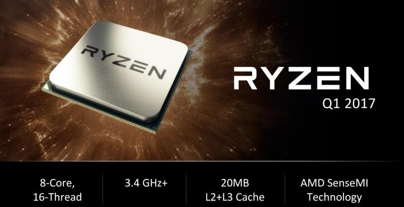 AMD Ryzen /materiały prasowe