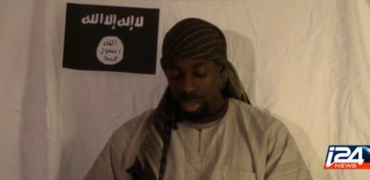 Amedy Coulibaly mówi na filmie, że należy do Państwa Islamskiego /YouTube