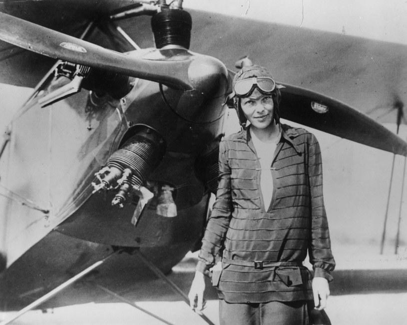 Amelia Earhart - jedna z najsłynniejszych kobiet-pilotów swoich czasów /Getty Images