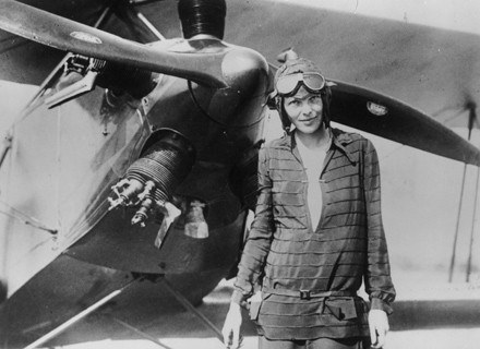 Amelia Earhart /Getty Images/Flash Press Media