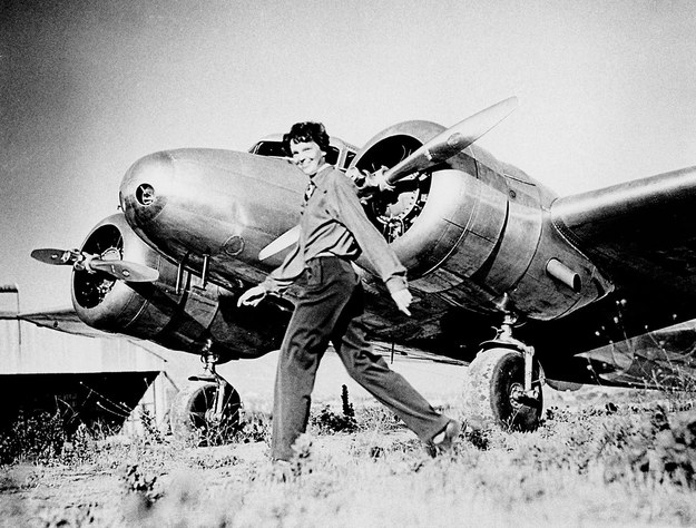 Amelia Earhart / PF-(aircraft) / Alamy /PAP