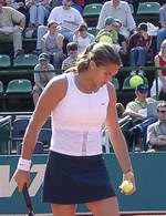 Amelie Mauresmo zagra w półfinale /INTERIA.PL