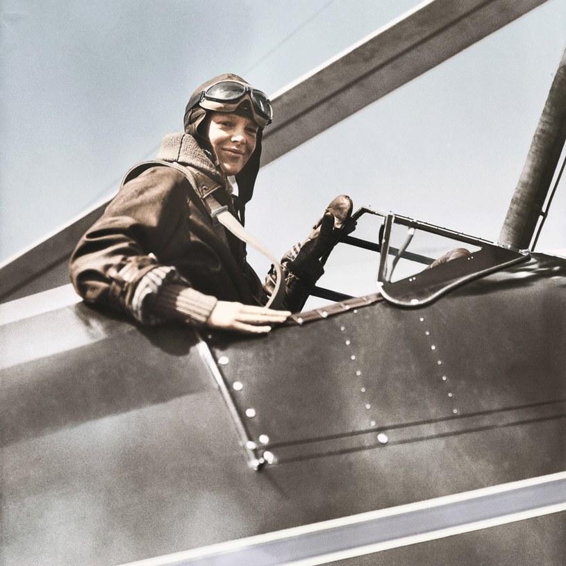 Amelii Earhart w 1928 roku została pierwszą kobietą, która przeleciała nad Atlantykiem jako jeden z członków załogi /materiały prasowe
