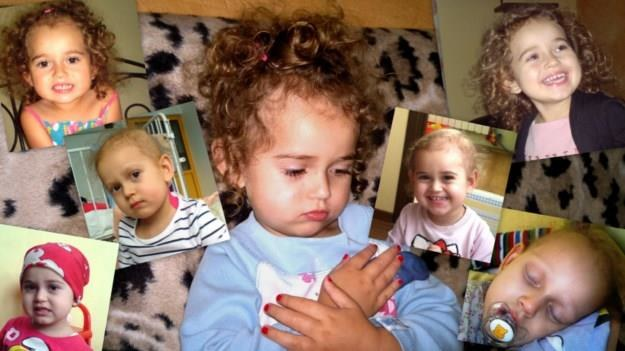 Amelka ma trzy latka /