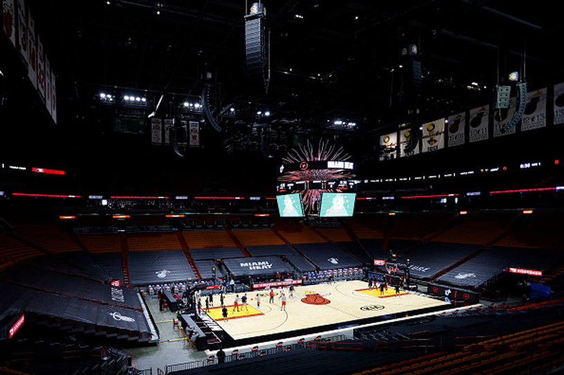 American Airlines Arena w Miami /Michael Reaves /Getty Images