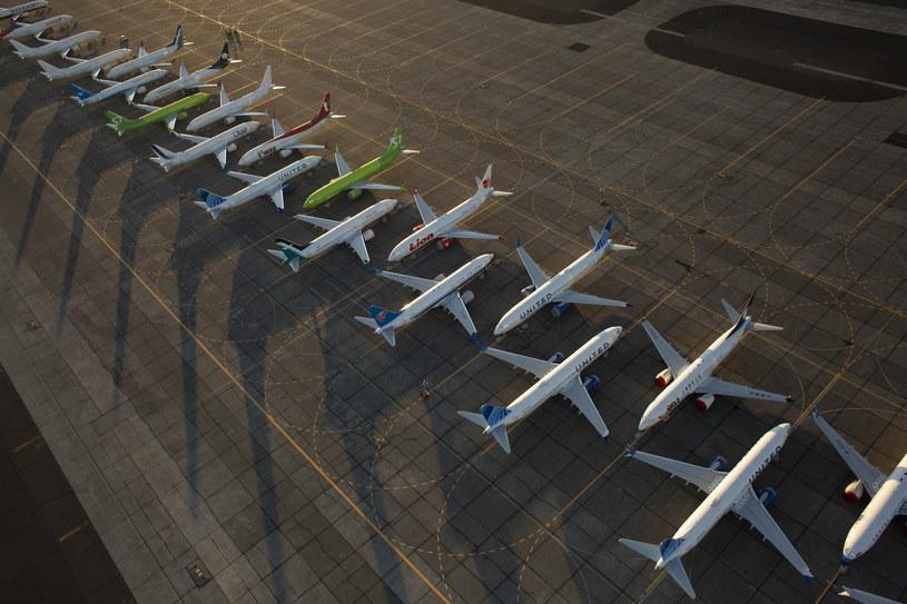 American Airlines przedłużyły uziemienie Boeingów 737 MAX /David Ryder /AFP