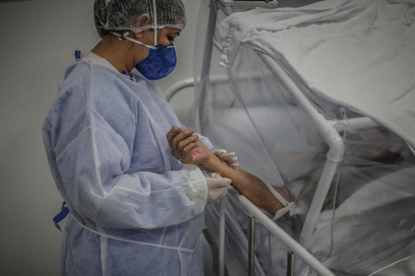 Ameryka Łacińska najciężej doświadczona przez pandemię prosi o szczepionki /Andre Coelho /Getty Images