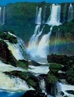 Ameryka Południowa: wodospad Iguaçú /Encyklopedia Internautica