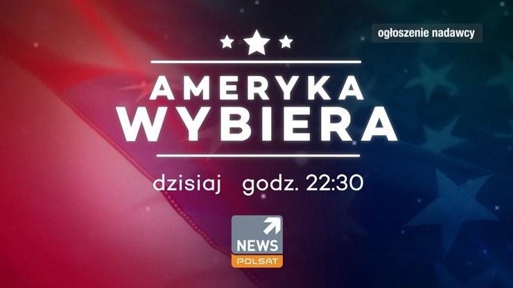 """""""Ameryka Wybiera"""" w Polsat News /Polsat News"""