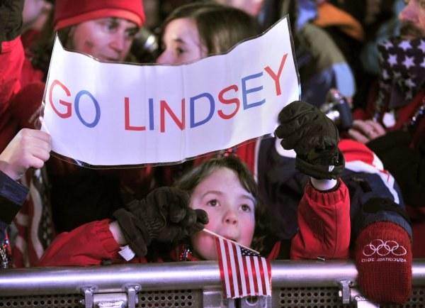 Amerykanie emocjonowali się występem Lindsey Vonn. /AFP