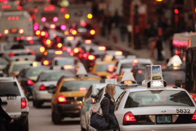 Amerykanie nie potrafią jeździć /AFP