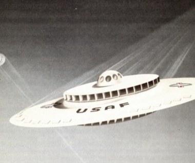 Amerykanie odtajnili plany budowy UFO