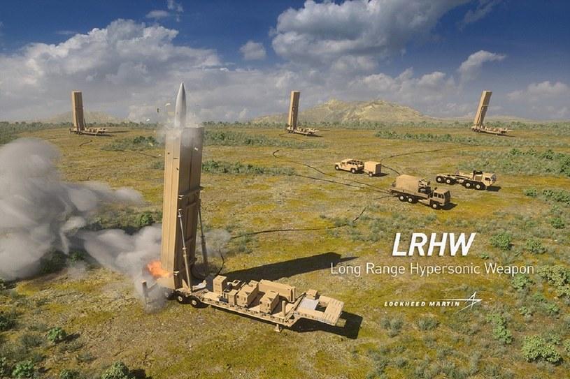 Amerykanie rozwijają broń nowej generacji -  naddźwiękowy pocisk doleciałby z Warszawy do Moskwy w około kilkanaście minut /materiały prasowe