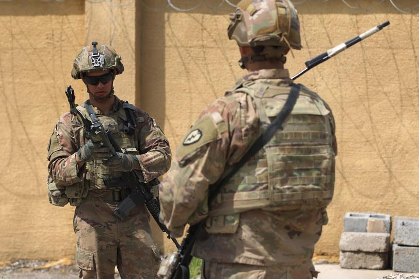 Amerykanie stacjonują w Iraku od 2003 roku. Zdj. ilustracyjne /AHMAD AL-RUBAYE /AFP