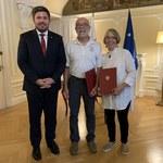 Amerykanie uratowali tonących Polaków. Nagrodził ich prezydent Andrzej Duda