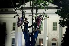Amerykanie wiwatują po śmierci Osamy