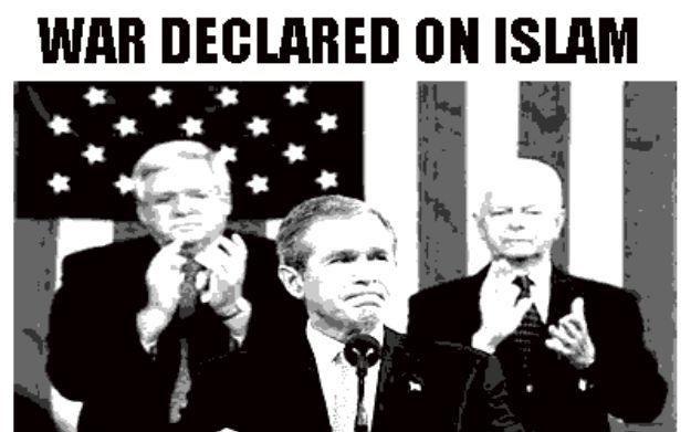 Amerykanie wypowiadają wojnę Islamowi - spokojnie, to tylko wymysł twórcy gry komputerowej /Informacja prasowa