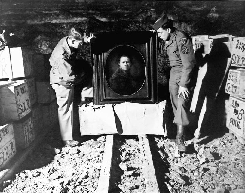 Amerykanie znajdywali dzieła sztuki najcześciej w pod ziemią /US Army /materiały prasowe
