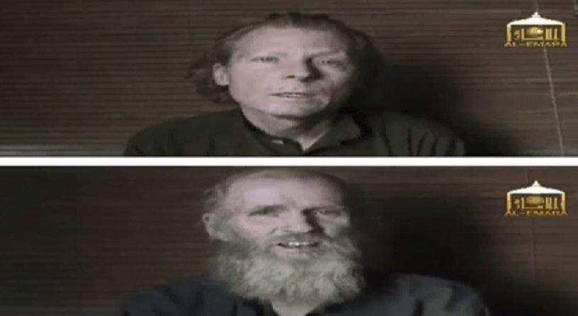 Amerykanin Kevin King i Australijczyk Timothy Weekes zostali porwani w sierpniu 2016 roku /YouTube
