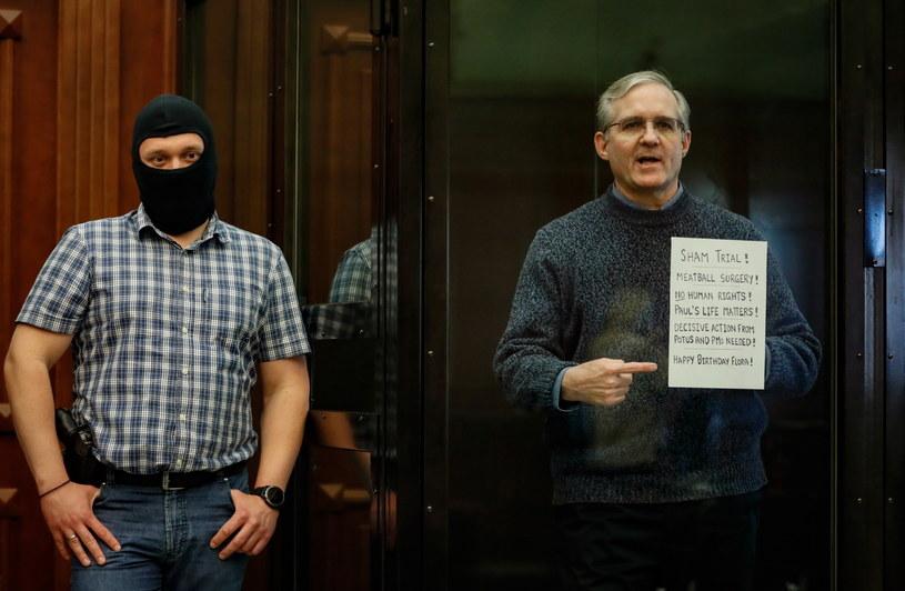 Amerykanin Paul Whelan skazany na 16 lat łagru za szpiegostwo /YURI KOCHETKOV /PAP/EPA
