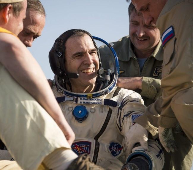 Amerykanin  Rick Mastracchio /NASA / Bill Ingalls /PAP/EPA