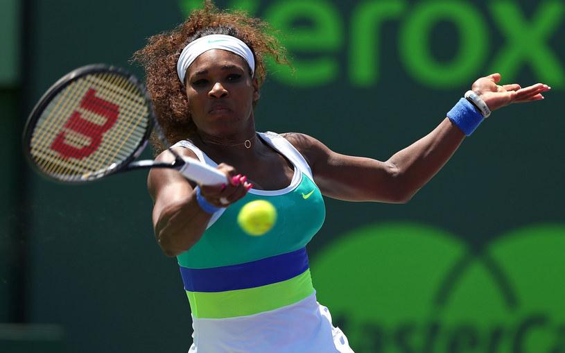 Amerykanka Serena Williams /AFP