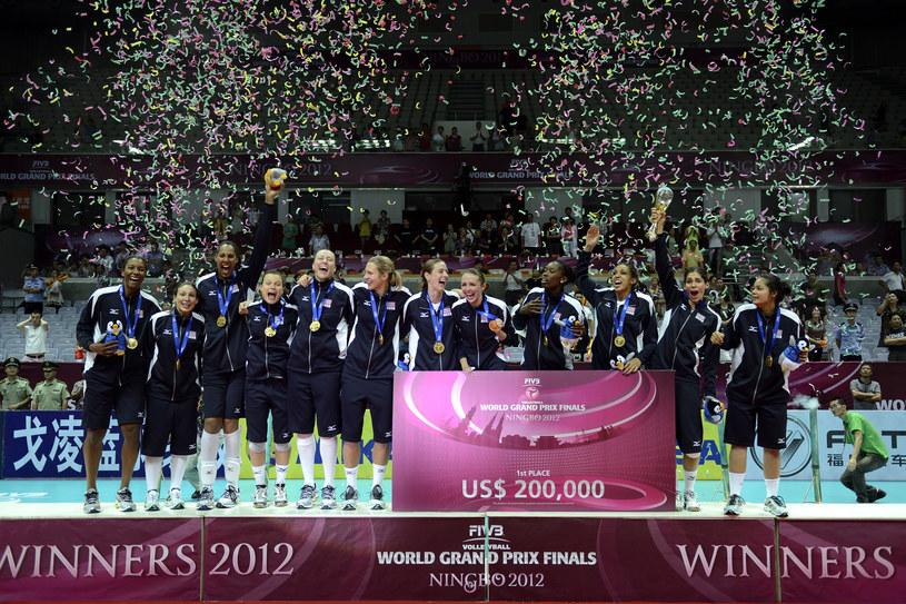 Amerykanki w turnieju finałowym wygrały wszystkie mecze /- /www.fivb.org