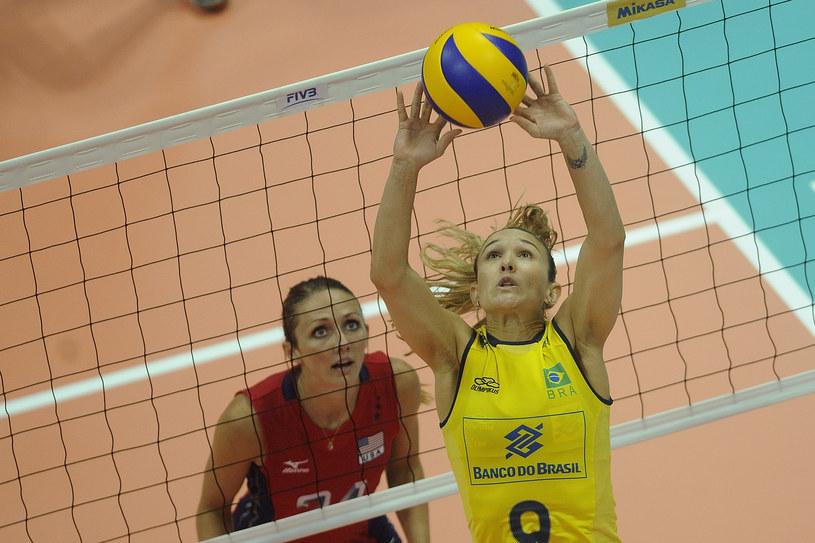 Amerykanki wygrały z Brazylijkami 3:2 /- /www.fivb.org
