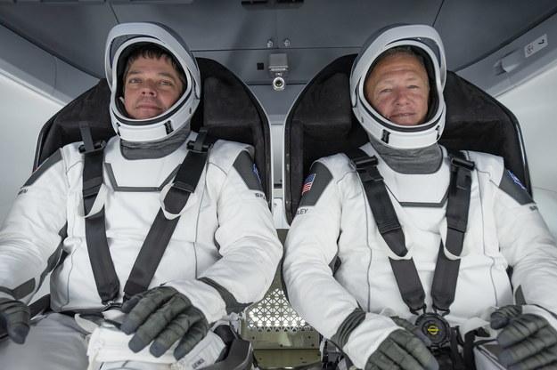 Amerykańscy astronauci Bob Behnken i and Doug Hurley wracają na Ziemię /SpaceX /PAP/EPA