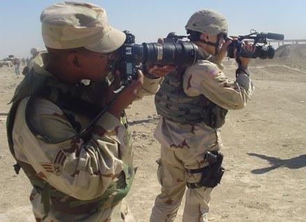 Amerykańscy operatorzy COMCAM w Iraku/fot. Robert Suchy, Dowództwo Operacyjne SZRP /