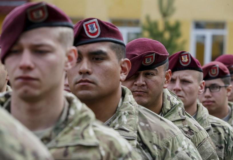 Amerykańscy spadochroniarze na Ukrainie /Agencja FORUM