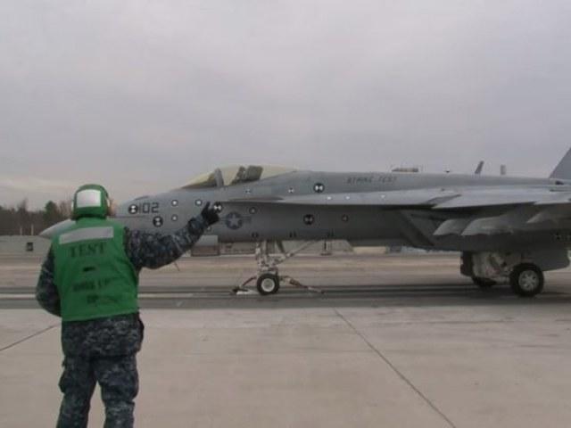 Amerykańscy wojskowi chcą wprowadzić system EMALS już w czerwcu tego roku. /YouTube