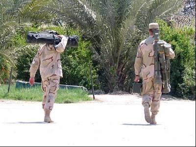 Amerykańscy żołnierze przed wyjazdem do Nadżafu /RMF