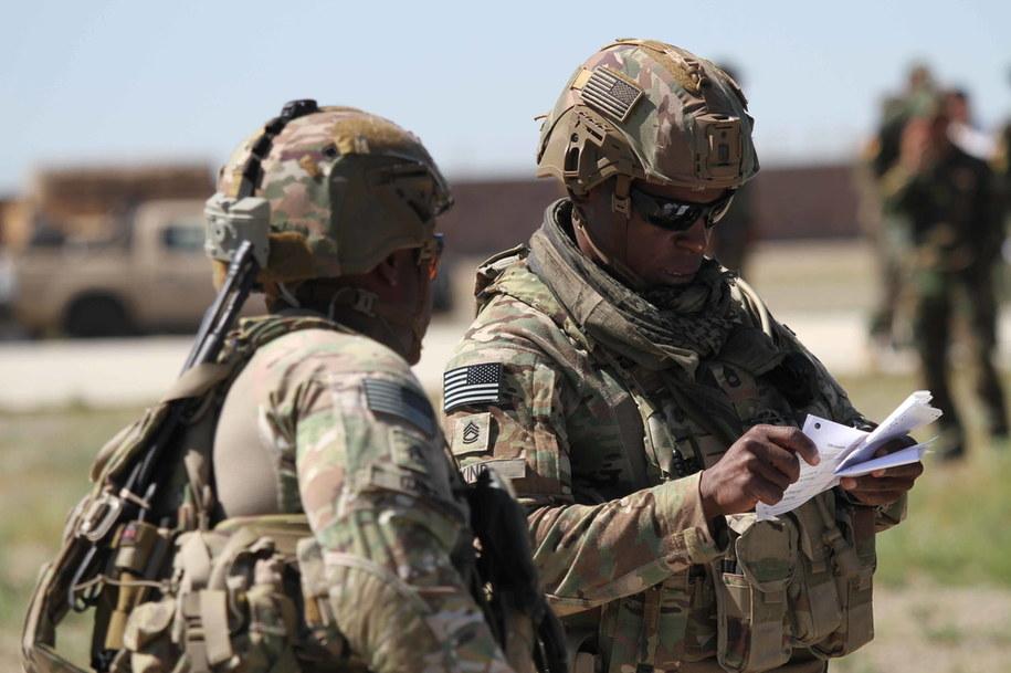 Amerykańscy żołnierze w Afganistanie (maj 2019) /JALIL REZAYEE    /PAP/EPA