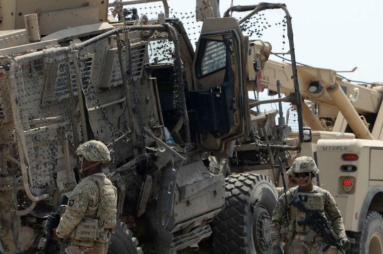 Amerykańscy żołnierze w Afganistanie, zdj. ilustracyjne /Noorullah Shirzada / AFP /AFP
