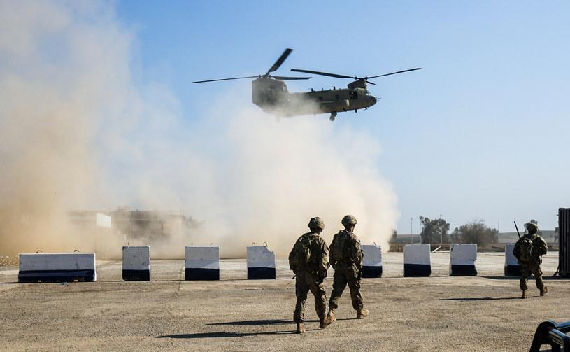 Amerykańscy żołnierze w Iraku /AFP
