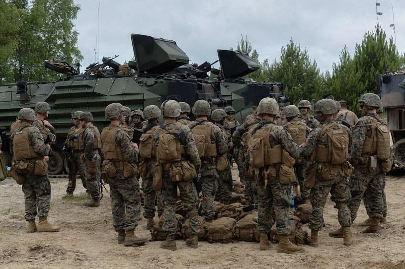 Amerykańscy żołnierze w Polsce /Gerard /East News