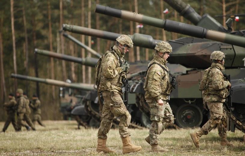Amerykańscy żołnierze w Polsce /Stefan Maszewski /Reporter