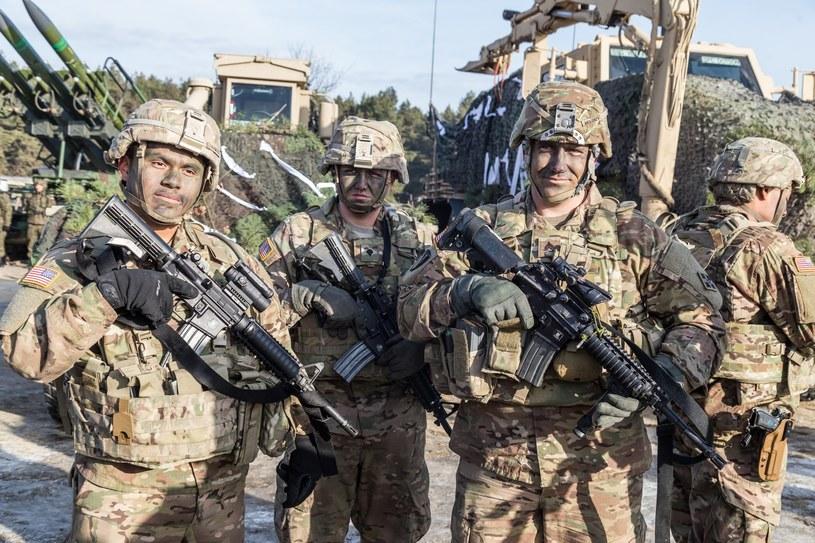 Amerykańscy żołnierze w Żaganiu, zdj. ilustracyjne /Krzysztof Kaniewski /Reporter