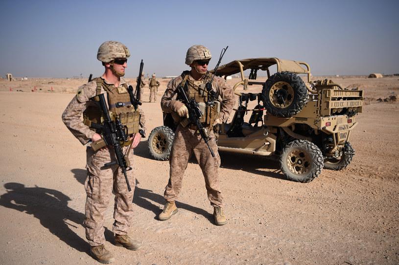 Amerykańscy żołnierze, zdjęcie ilustracyjne /Wakil KOHSAR /AFP