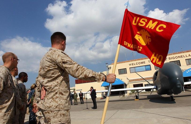 Amerykańska baza wojskowa Sigonella na Sycylii /AFP