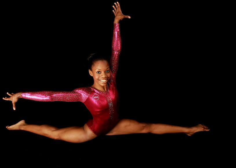 Amerykańska gimnastyczka, Gabby Douglas /AFP
