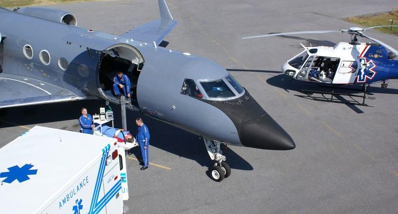 Amerykańska linia lotnicza Phoenix Air jako jedyna na świecie dysponuje kilkoma samolotami typu Gulfstream III przystosowanymi do transportu pacjentów zarażonych ebolą. Po każdym takim locie odrzutowce muszą zostać poddane trwającemu dobę odkażaniu /materiały prasowe