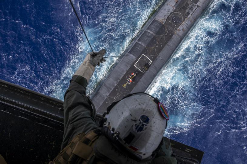 Amerykańska łódź podwodna; zdj. ilustracyjne /Cpl. Matthew Kirk/Cover Images /East News