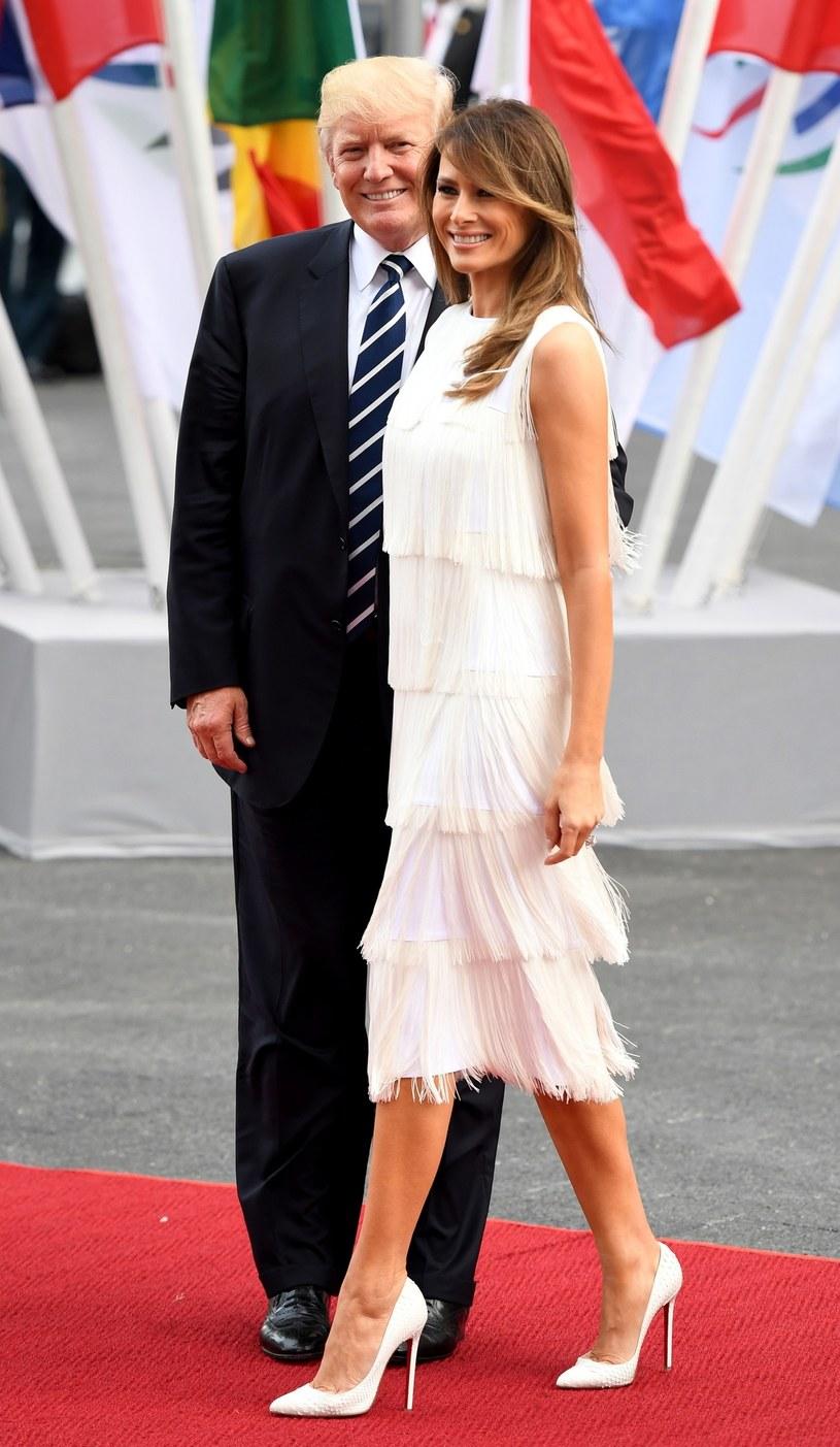 Amerykańska para prezydencka /PATRIK STOLLARZ /East News