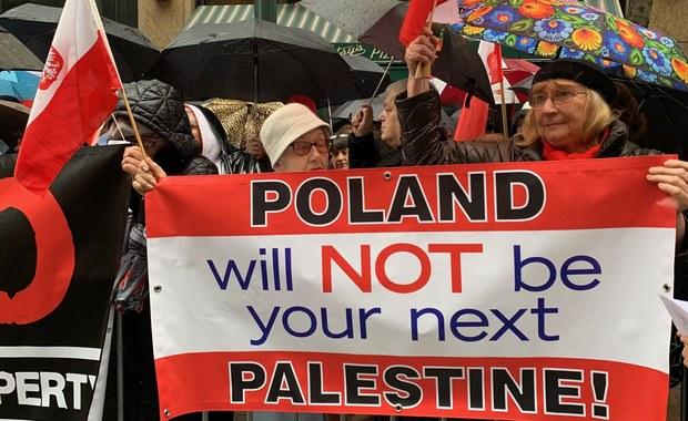 Amerykańska Polonia protestowała przeciwko ustawie o restytucji mienia żydowskiego