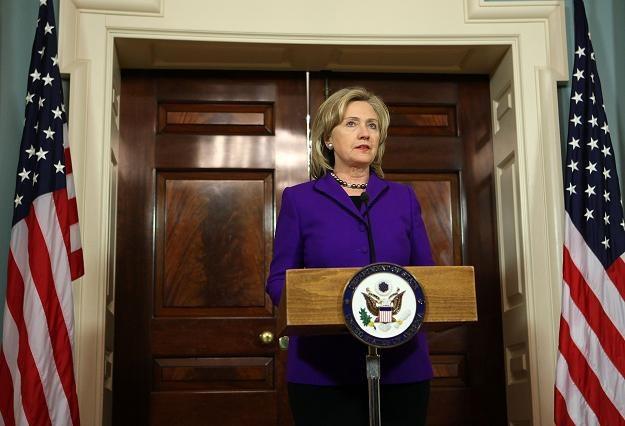 Amerykańska sekretarz Stanu Hillary Clinton /AFP